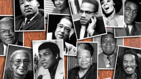 Familiar faces from African-American history